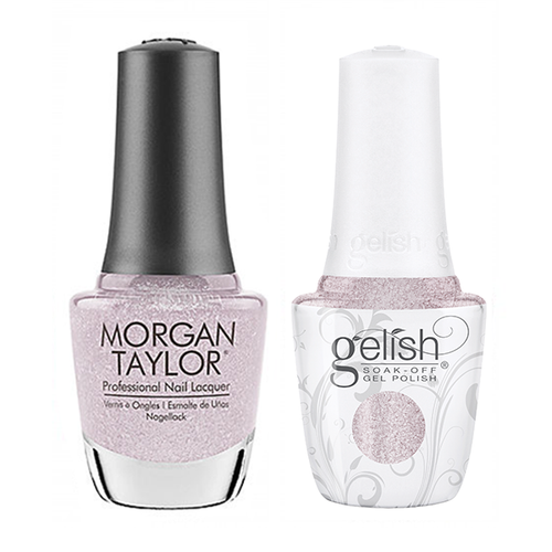 Gelish & Morgan Taylor Combo - Don't Snow-Flake On Me