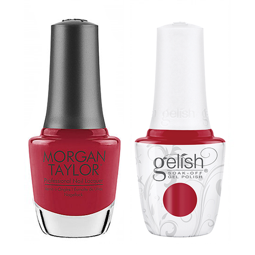 Gelish & Morgan Taylor Combo - Stilettos In The Snow