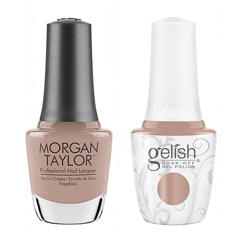 Gelish & Morgan Taylor Combo - Bare & Toasty
