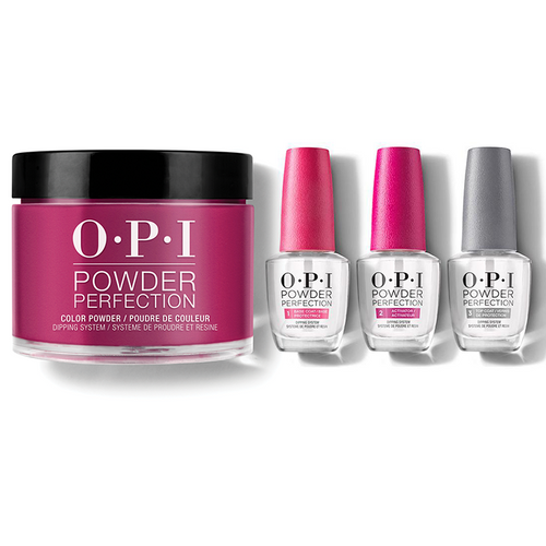 OPI - Dip Powder Combo - Liquid Set & Complimentary Wine