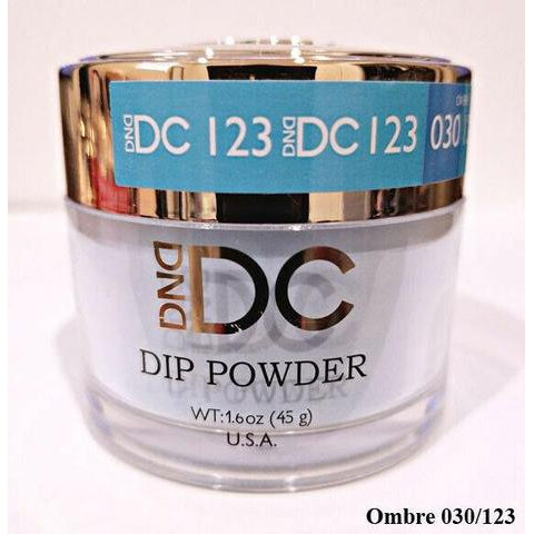 DND - DC Dip Powder - Cornflower Blue 2 oz - #123