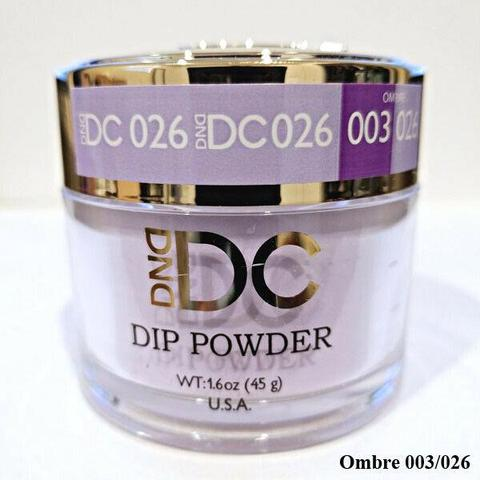 DND - DC Dip Powder - Crocus Lavender 2 oz - #026