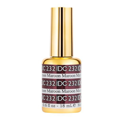 DND - DC Mermaid Collection - Maroon 0.5 oz - #232