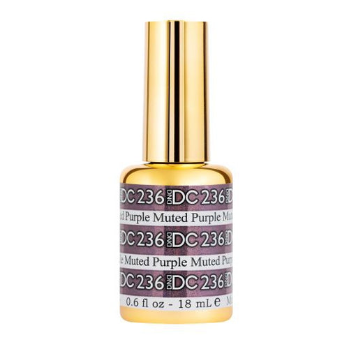 DND - DC Mermaid Collection - Muted Purple 0.5 oz - #236