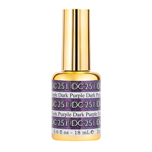 DND - DC Mermaid Collection - Dark Purple 0.5 oz - #251