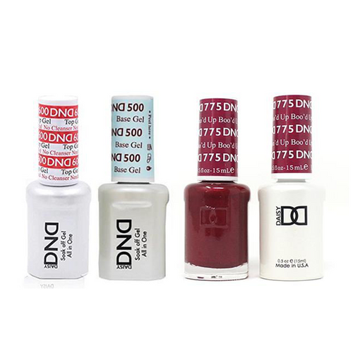 DND - #500#600 Base, Top, Gel & Lacquer Combo - Boo'd Up - #775