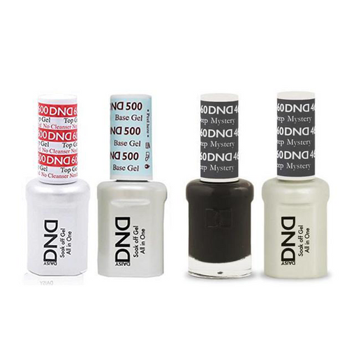 DND - #500#600 Base, Top, Gel & Lacquer Combo - Deep Mystery - #460