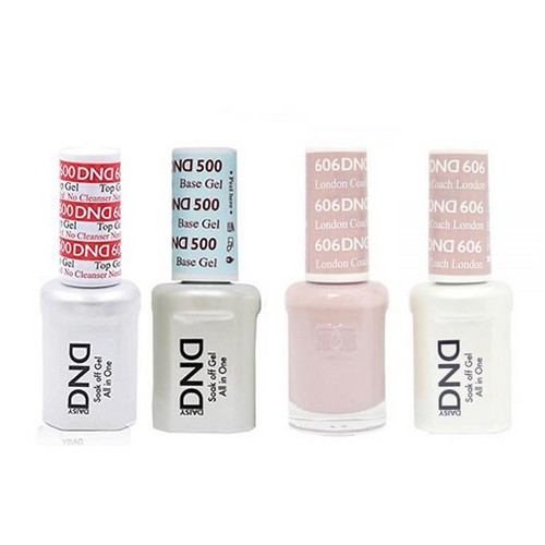DND - #500#600 Base, Top, Gel & Lacquer Combo - London Coach - #606