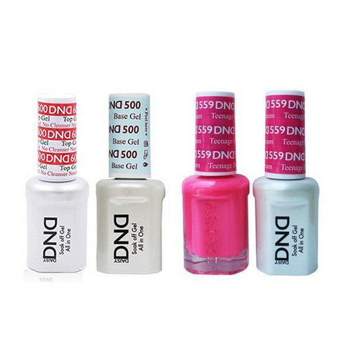 DND - #500#600 Base, Top, Gel & Lacquer Combo - Teenage Dream - #559