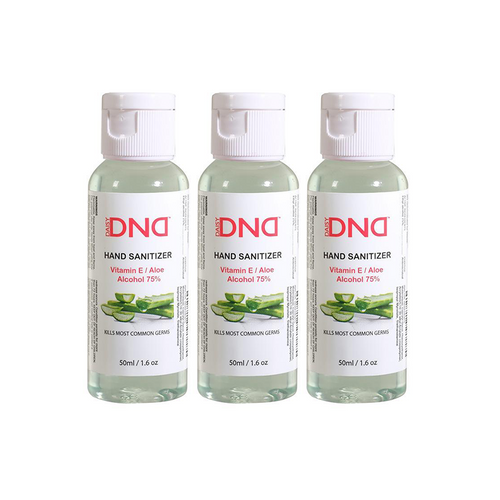 DND - Hand Sanitizer Gel Aloe 1.6 oz 3-Pack