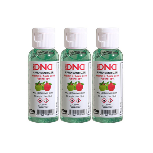 DND - Hand Sanitizer Gel Apple 1.6 oz 3-Pack