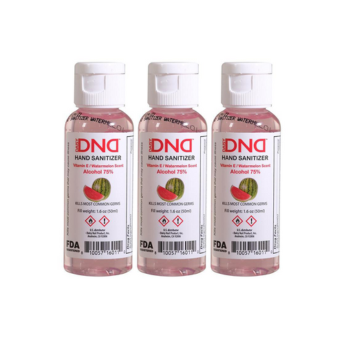 DND - Hand Sanitizer Gel Watermelon 1.6 oz 3-Pack