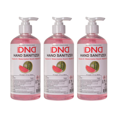 DND - Hand Sanitizer Gel Watermelon 16 oz 3-Pack