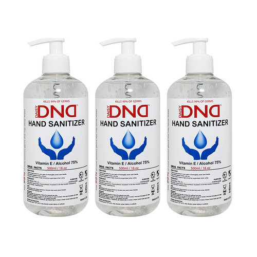 DND - Hand Sanitizer Gel 16 oz 3-Pack