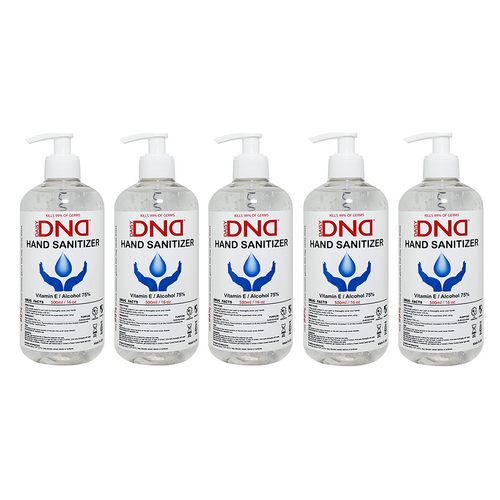 DND - Hand Sanitizer Gel 16 oz 5-Pack