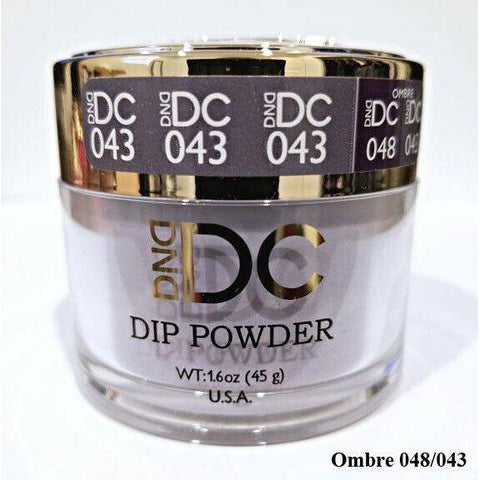 DND - DC Dip Powder - Dark Salmon 2 oz - #043