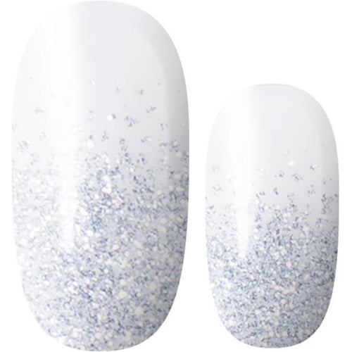 Lily and Fox - Nail Wrap - Dreams Are Forever (Transparent Glitter) #A1204