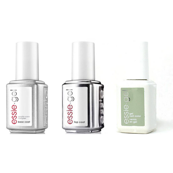 Essie Combo - Gel, Base & - Can Dew Attitude 0.5 oz - #1609G
