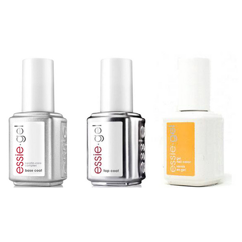 Essie Combo - Gel, Base & - Check Your Baggage 0.5 oz - #597G