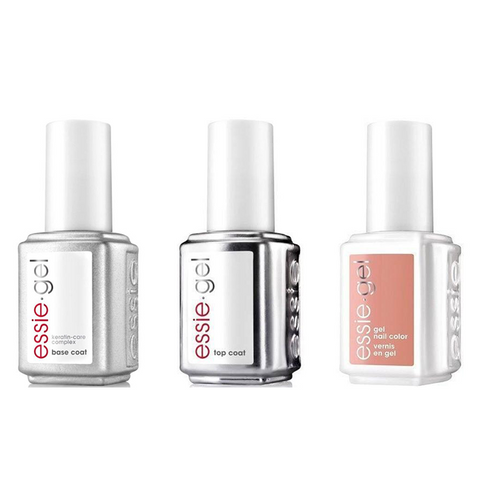 Essie Combo - Gel, Base & - Come Out To Clay 0.5 oz - #663G