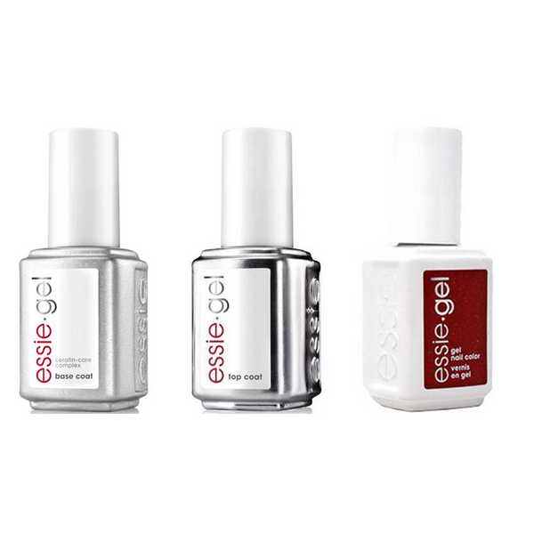 Essie Combo - Gel, Base & - Knotty Or Nice 0.5 oz - #1594G