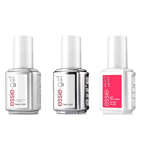 Essie Combo - Gel, Base & - No Shade Here 0.5 oz - #579G