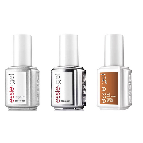 Essie Combo - Gel, Base & - On The Bright Cider 0.5 oz - #1572G