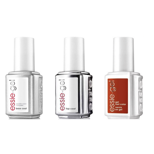Essie Combo - Gel, Base & - Rust Worthy 0.5 oz - #1575G