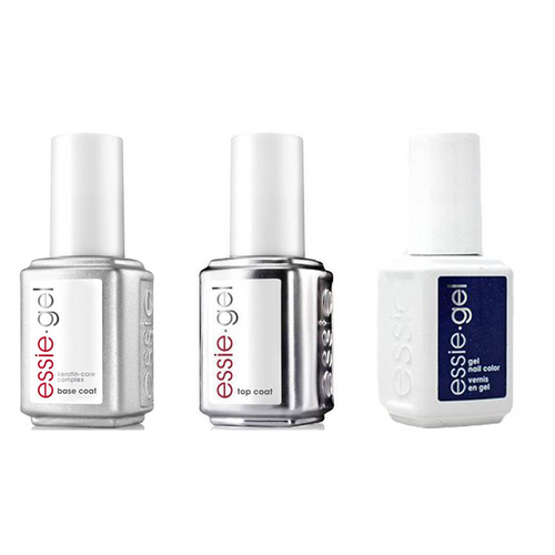 Essie Combo - Gel, Base & - Tied & Blue 0.5 oz - #1595G