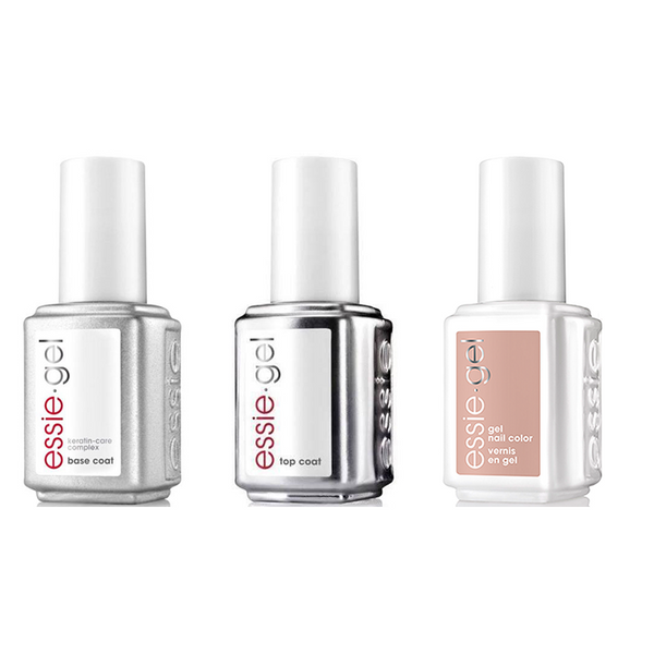 Essie Combo - Gel, Base & Bare With Me .5 oz - #1123G