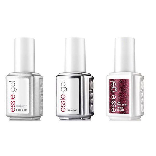 Essie Combo - Gel, Base & Button On Up 5075