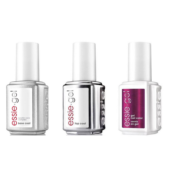 Essie Combo - Gel, Base & Jamaica Me Crazy 778G