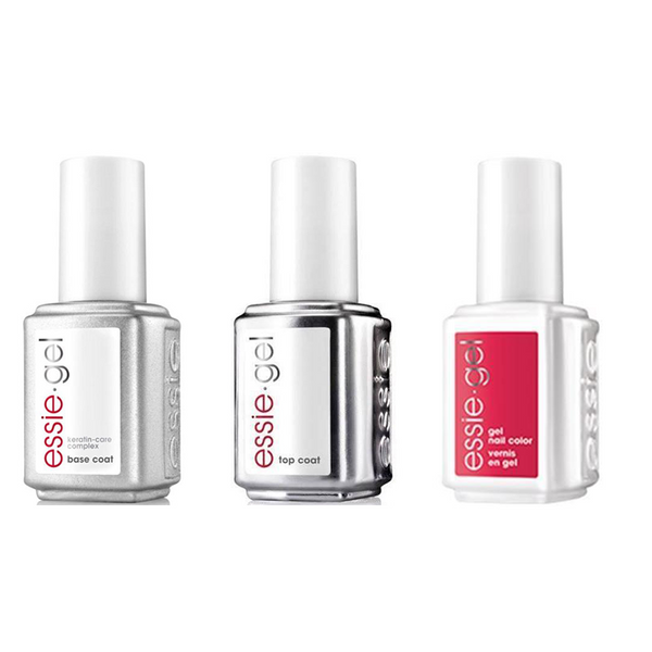 Essie Combo - Gel, Base & Lacquered Up 678G