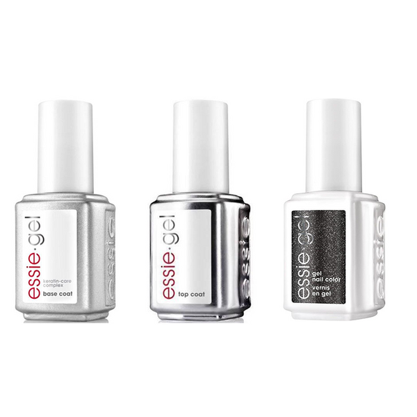Essie Combo - Gel, Base & Tribal Text Styles 0.5 oz - #995G