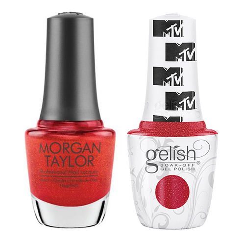Gelish & Morgan Taylor Combo - Total Request Red