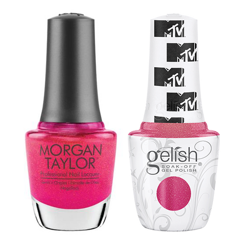 Gelish & Morgan Taylor Combo - Live Out Loud