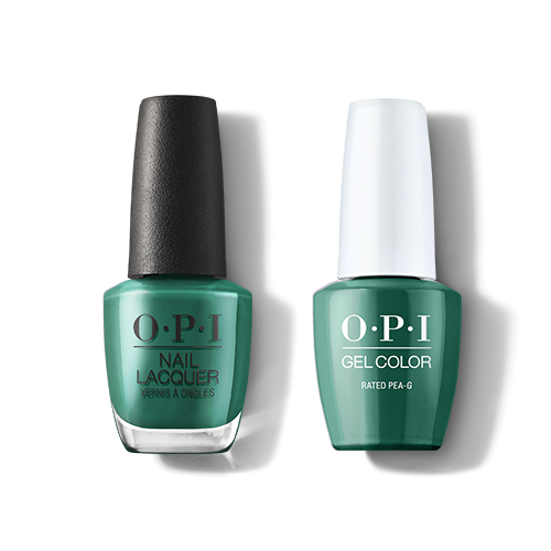 OPI - Gel & Lacquer Combo - Rated Pea-G