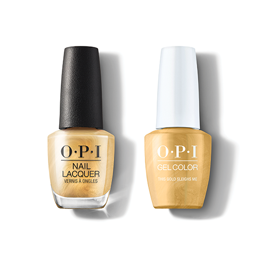 OPI - Gel & Lacquer Combo - This Gold Sleighs Me