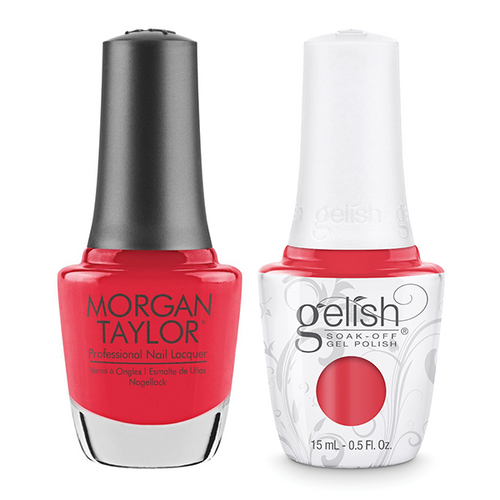 Gelish & Morgan Taylor Combo - A Petal For Your Thoughts