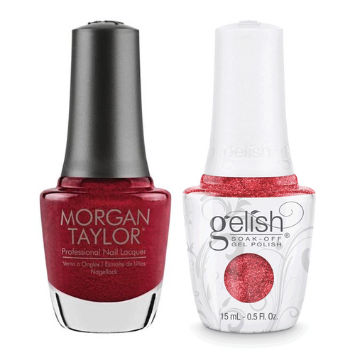 Gelish & Morgan Taylor Combo - Best Dressed