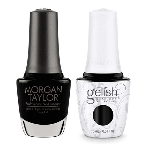 Gelish & Morgan Taylor Combo - Black Shadow