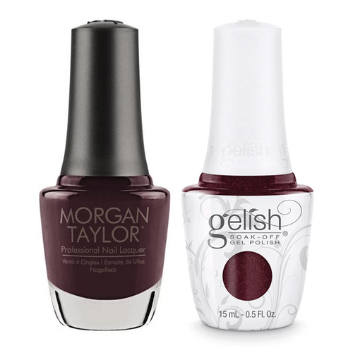 Gelish & Morgan Taylor Combo - Figure 8s & Heartbreaks