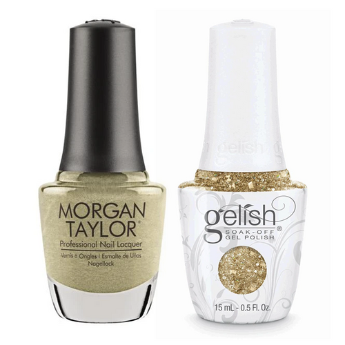 Gelish & Morgan Taylor Combo - Give Me Gold