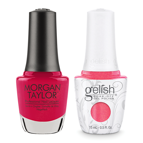 Gelish & Morgan Taylor Combo - Hip Hot Coral