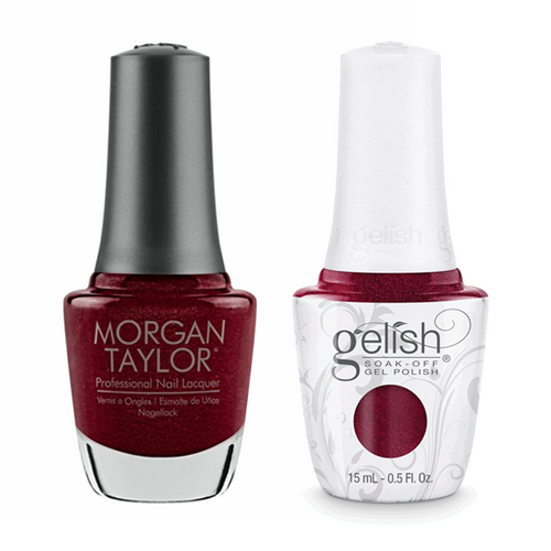 Gelish & Morgan Taylor Combo - I'm So Hot