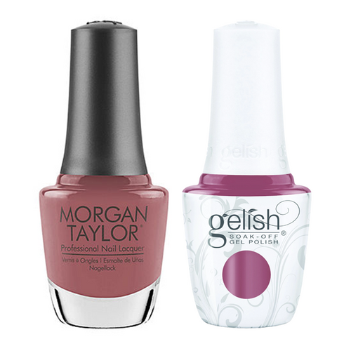 Gelish & Morgan Taylor Combo - It's Your Mauve