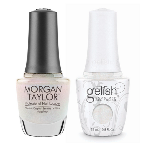 Gelish & Morgan Taylor Combo - Izzy Wizzy, Let's Get Busy