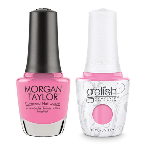 Gelish & Morgan Taylor Combo - Look At You, Pink-achu!