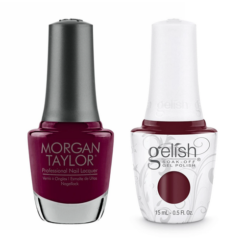 Gelish & Morgan Taylor Combo - Looking For A Wingman