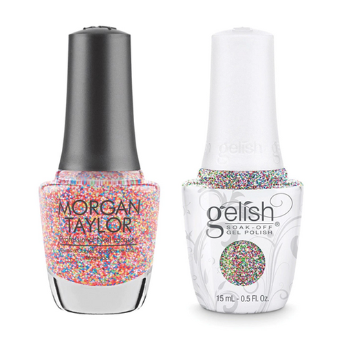 Gelish & Morgan Taylor Combo - Lots Of Dots